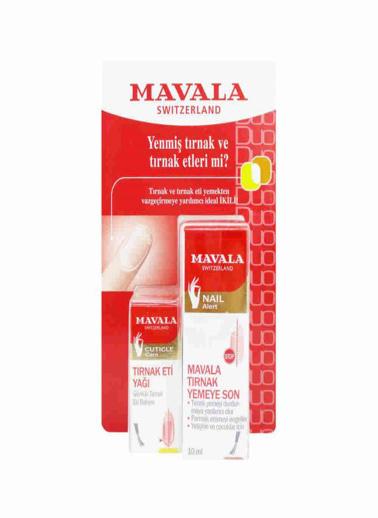 Mavala Stop 10ml + Cuticle Oil 5ml Set Renksiz